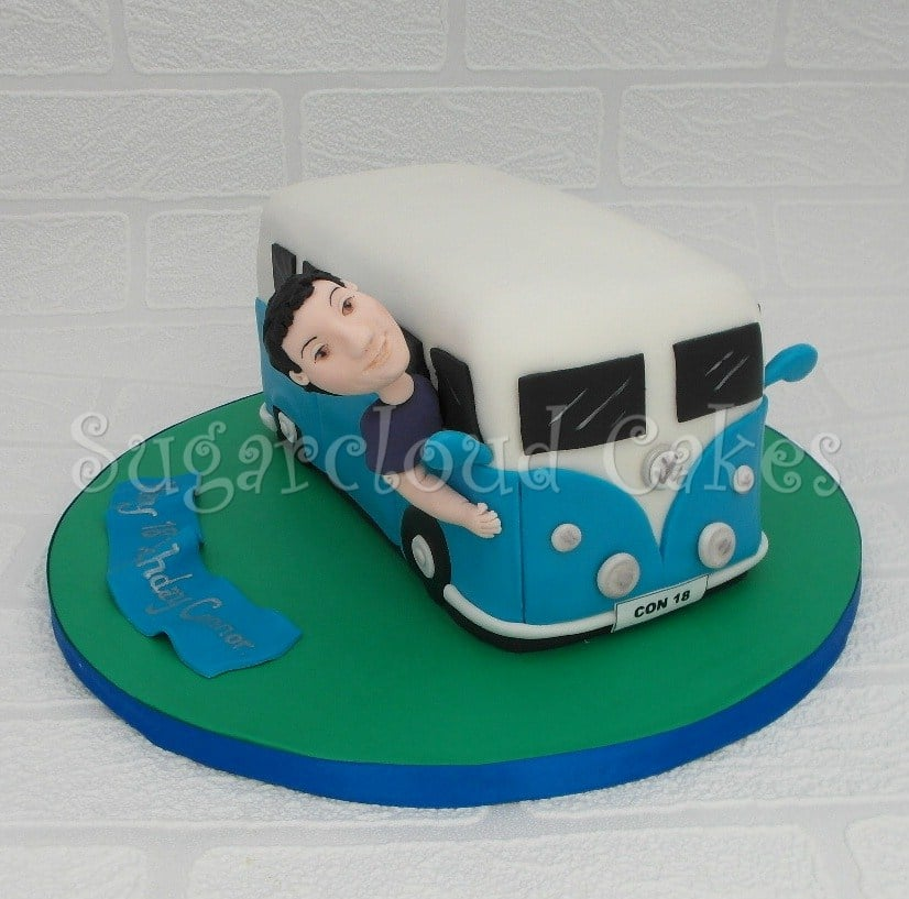 VW Campervan Cake