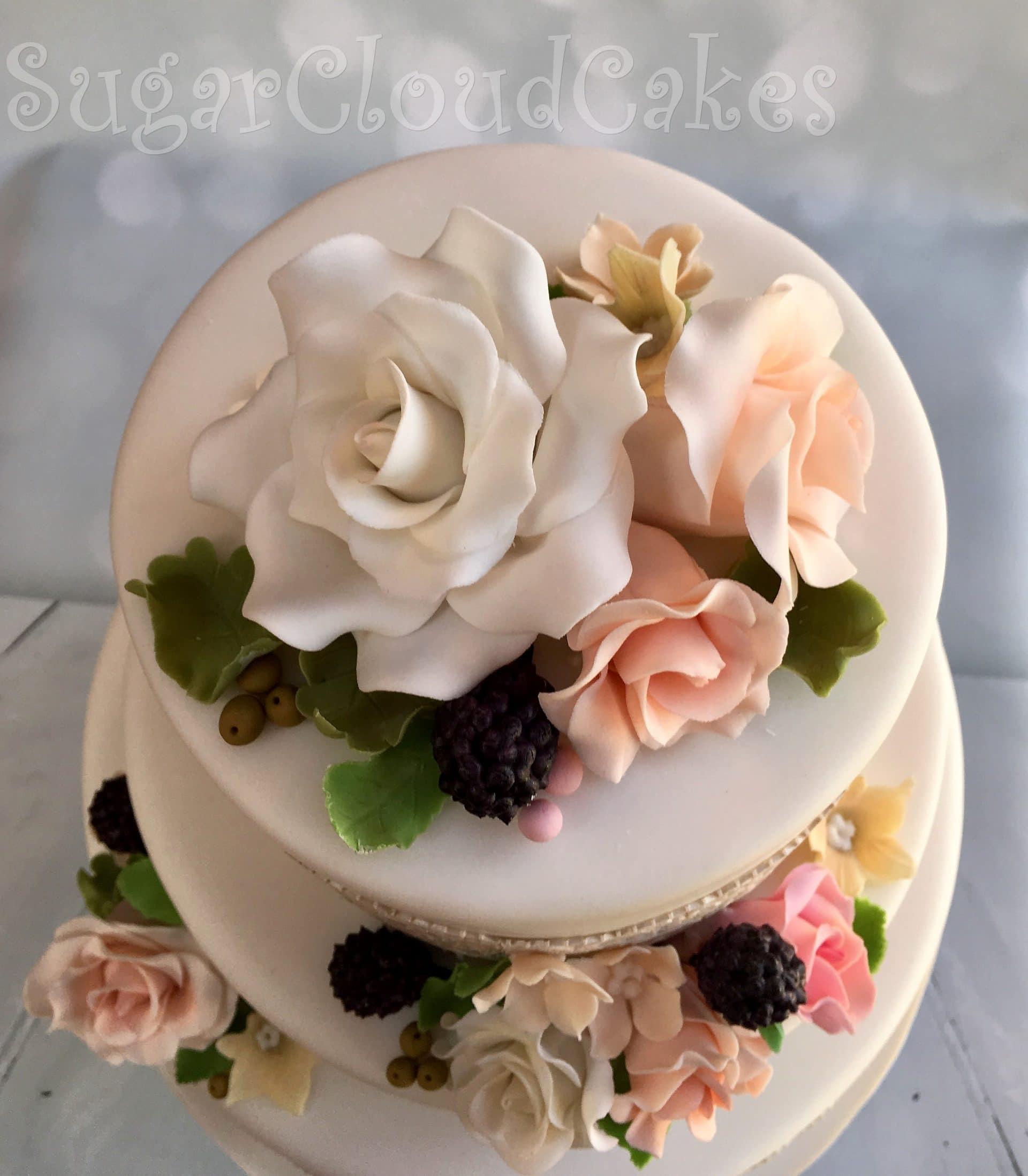 Wedding Cake - Crewe Hall, Cheshire