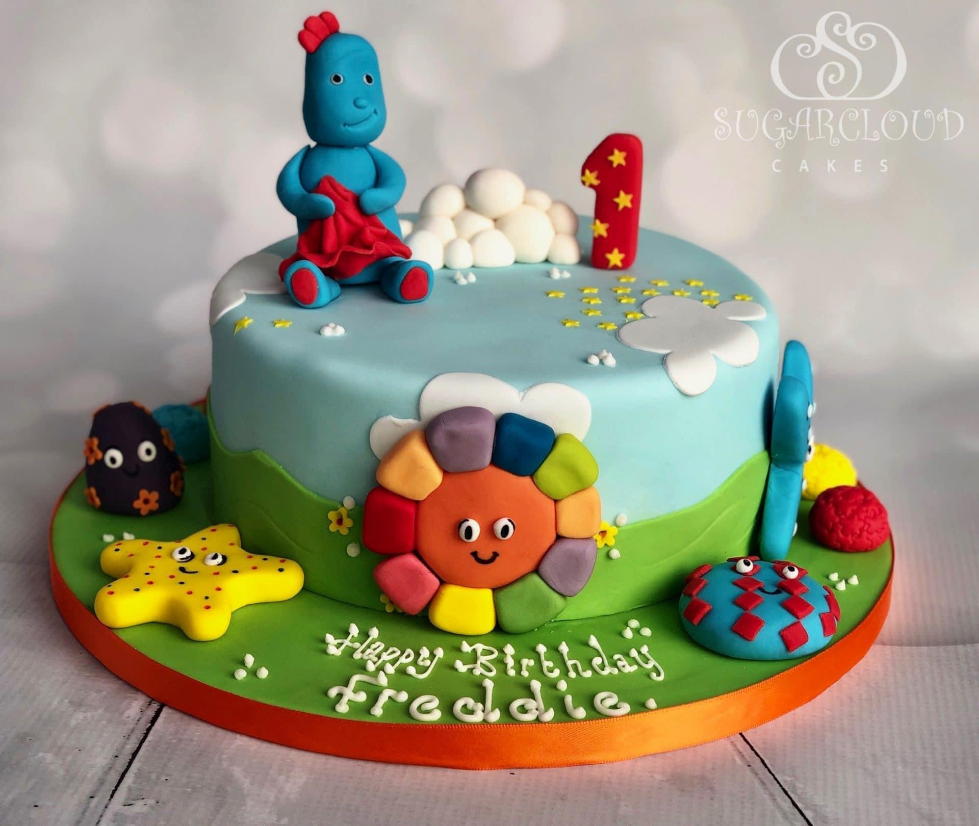 In the night garden inspired birthday cake