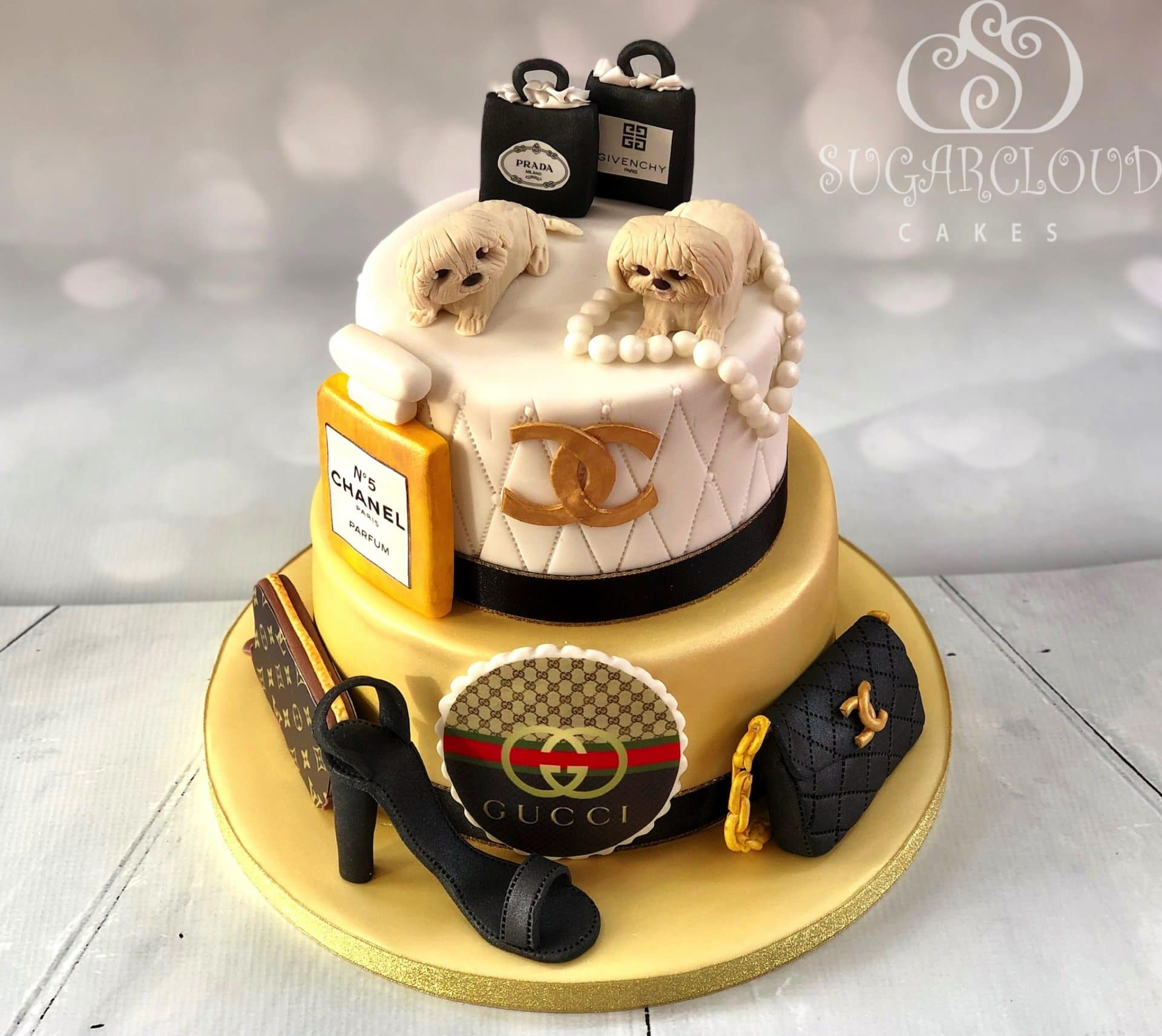 Designer themed Cake 1