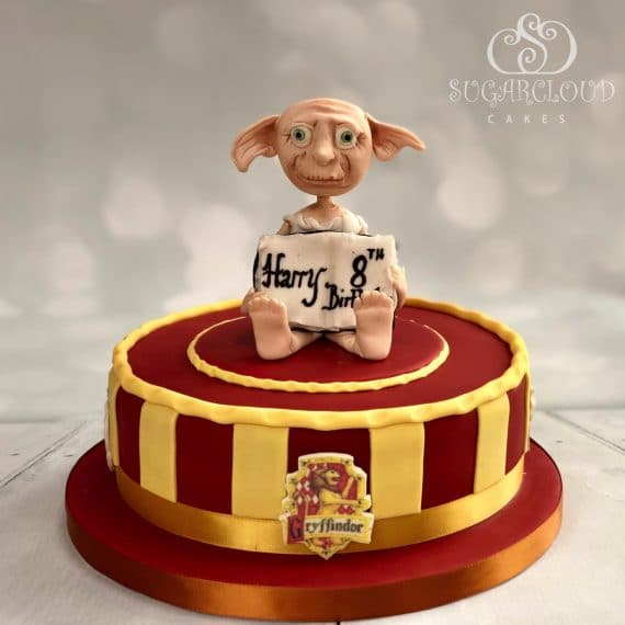 Harry Potter Themed Dobby Birthday Cake
