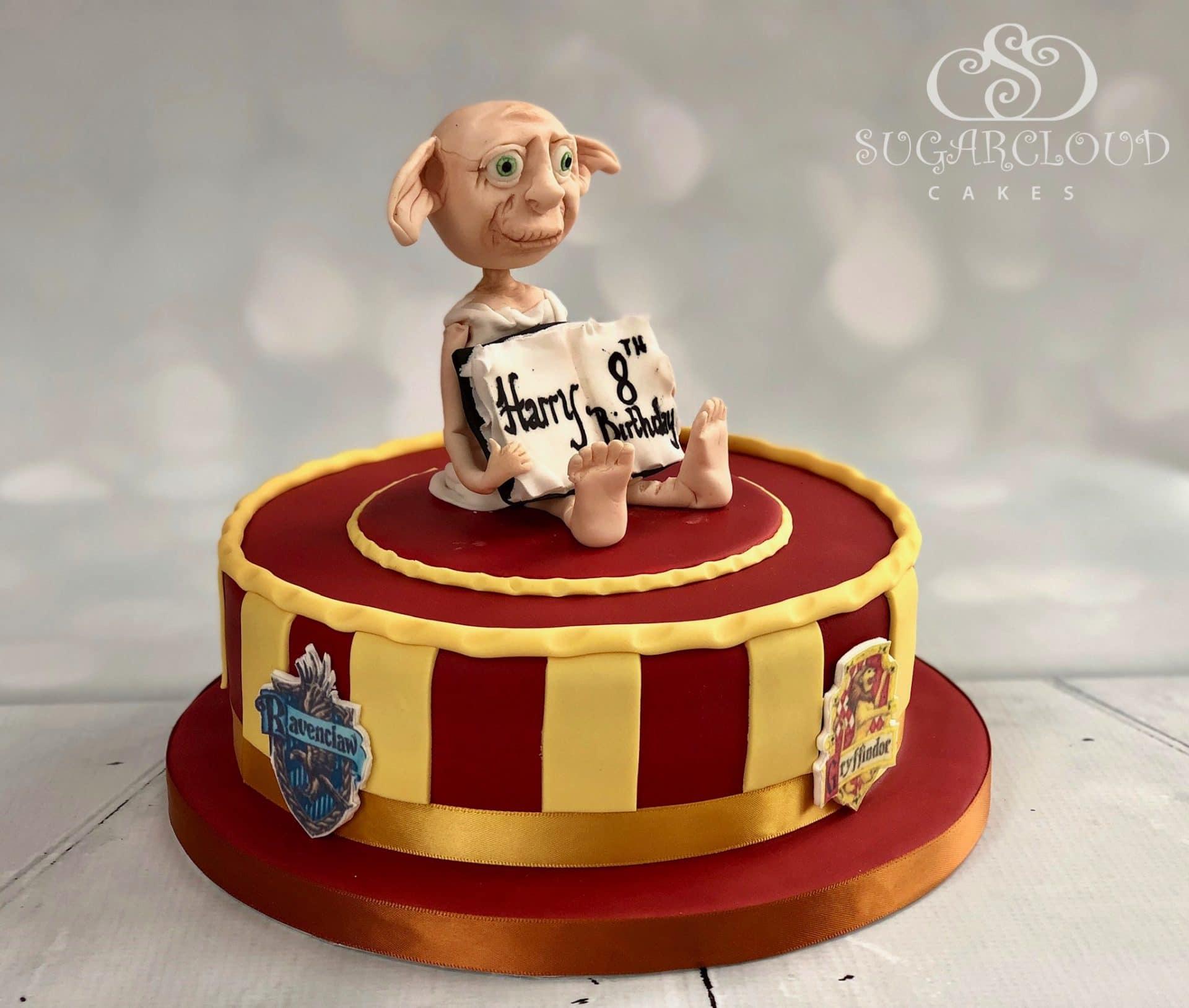 Harry Potter Themed Dobby Birthday Cake