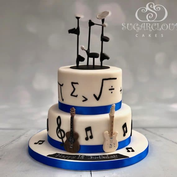 Music and Maths Cake