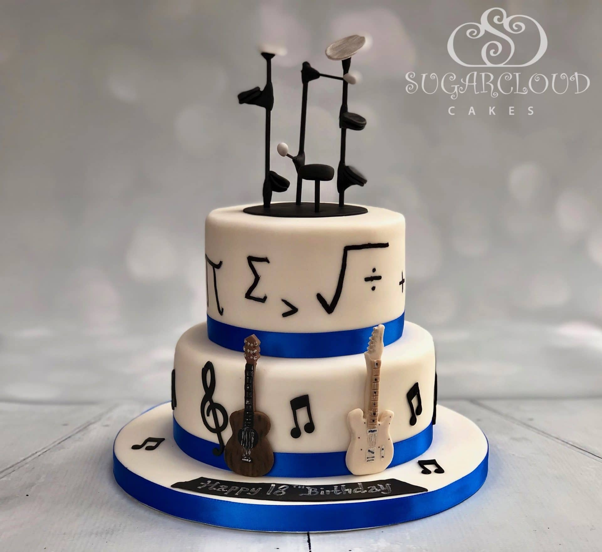 Music and Maths Cake