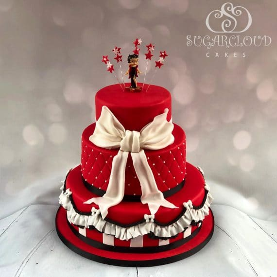 Betty Boop 50th Birthday Cake