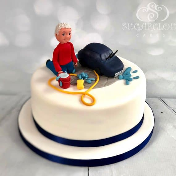 Richard car wash cake