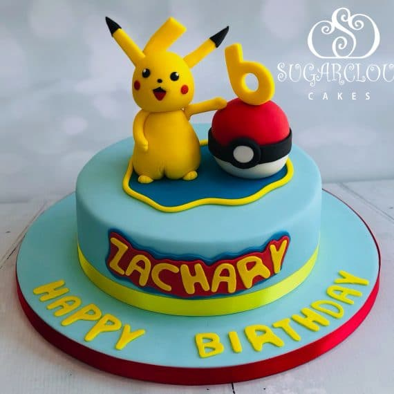 A Pokemon Birthday Cake