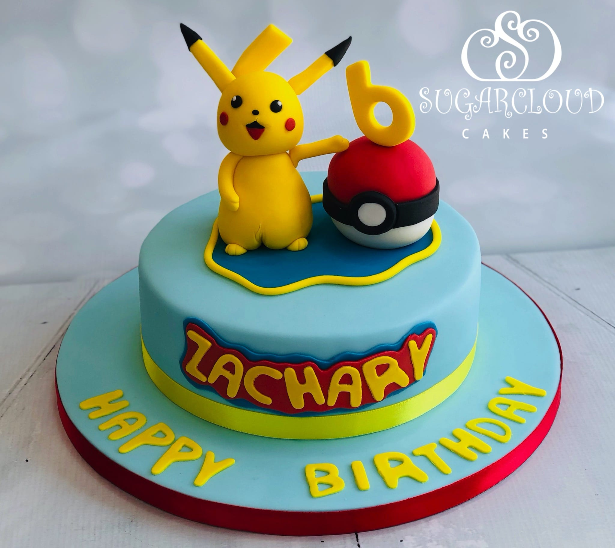 A Pokemon Birthday Cake