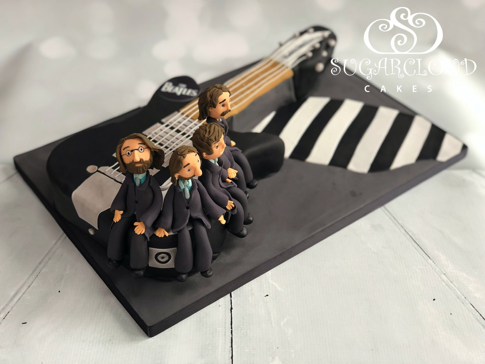 A Beatles Themed Cake