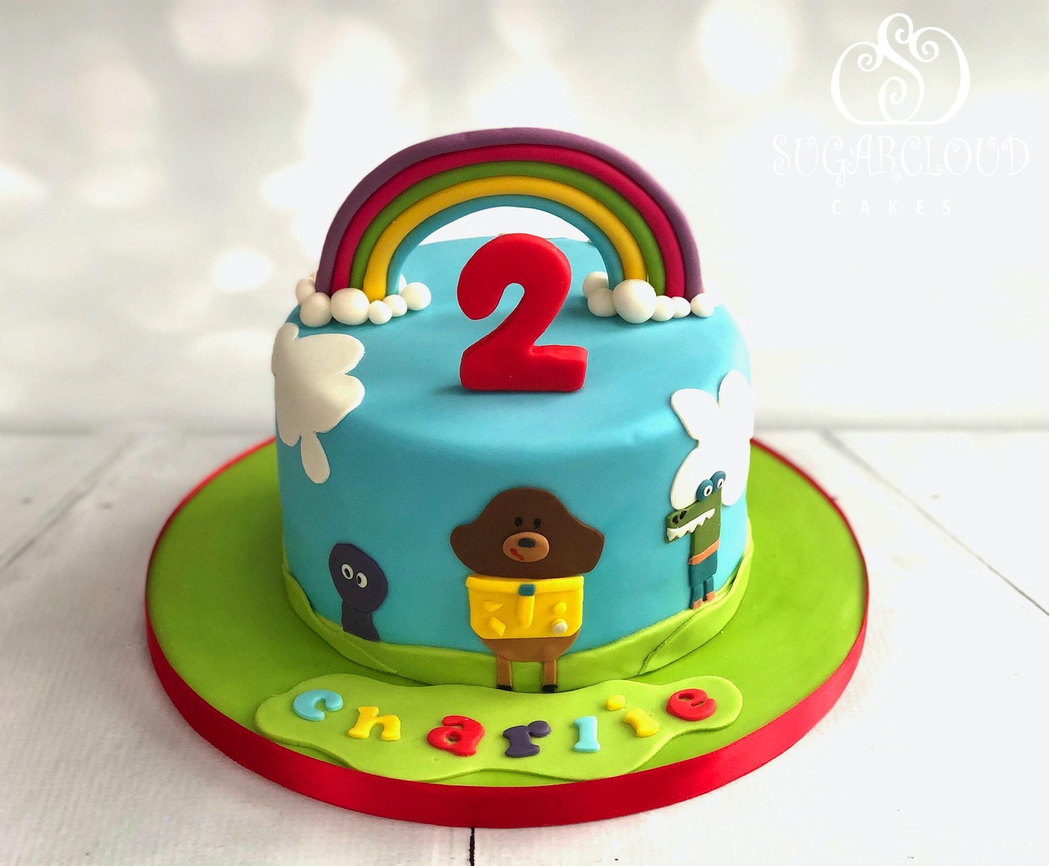 A Hey Duggee Themed 2nd Birthday Cake