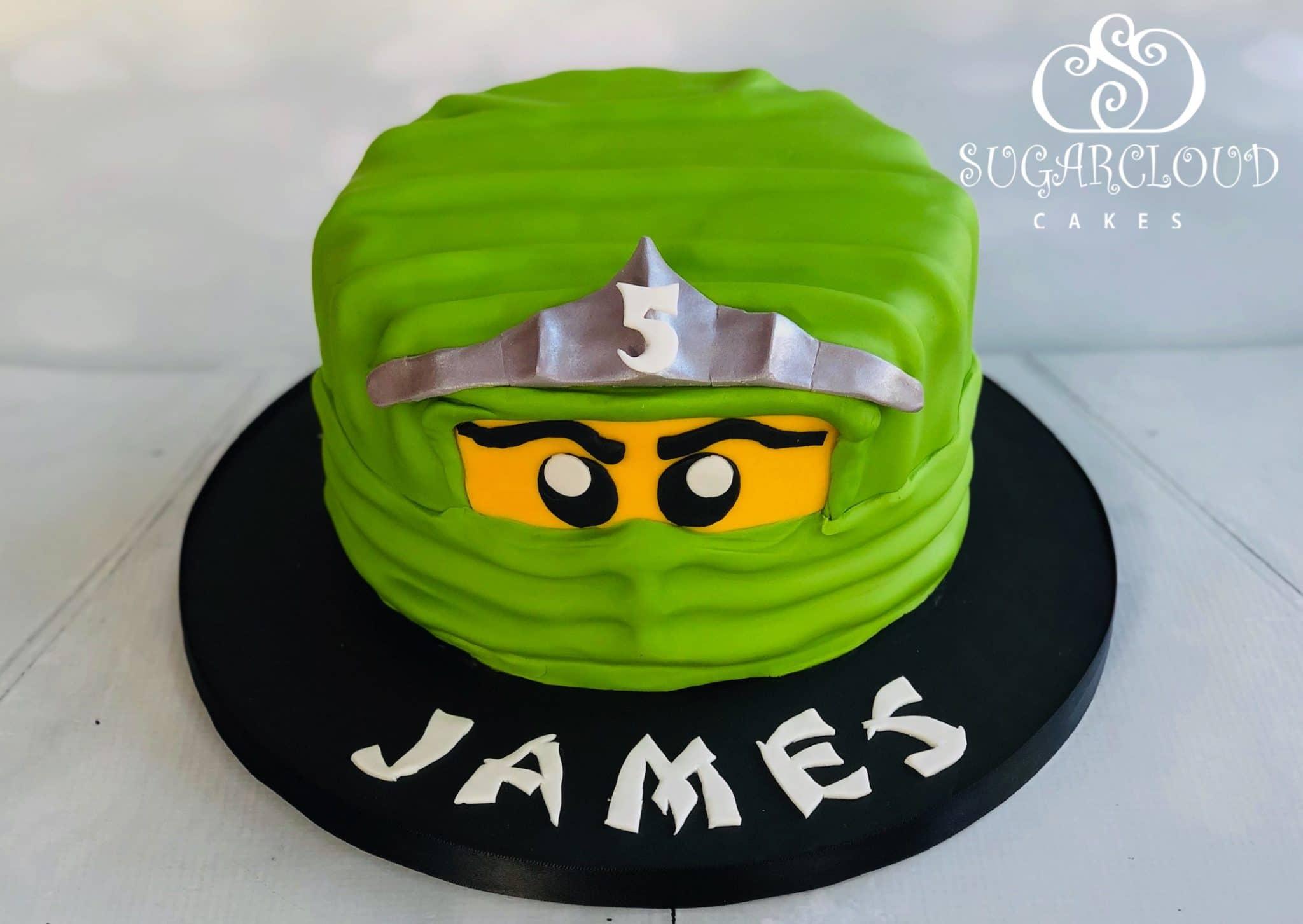 A Ninjago Birthday Cake