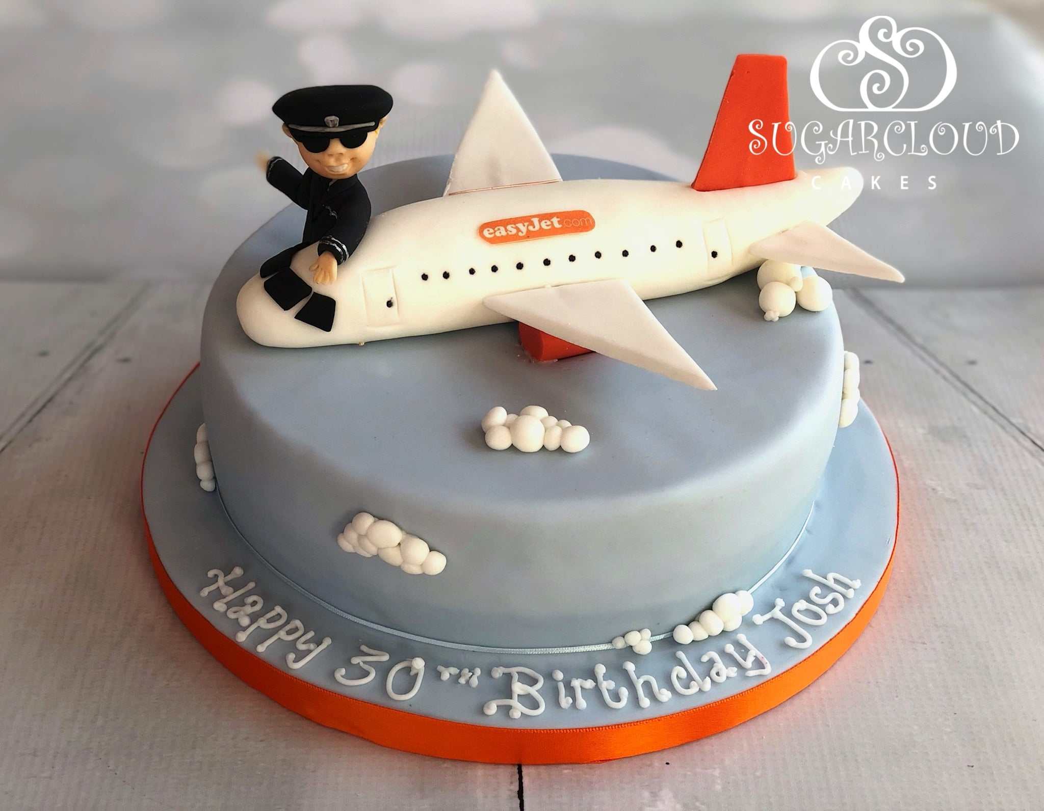 A 30th Birthday Cake For A Pilot