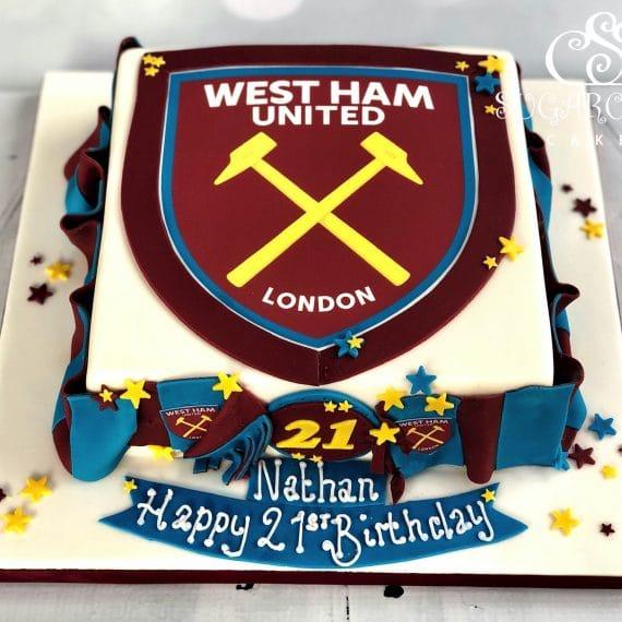 A West Ham United 21st Birthday Cake