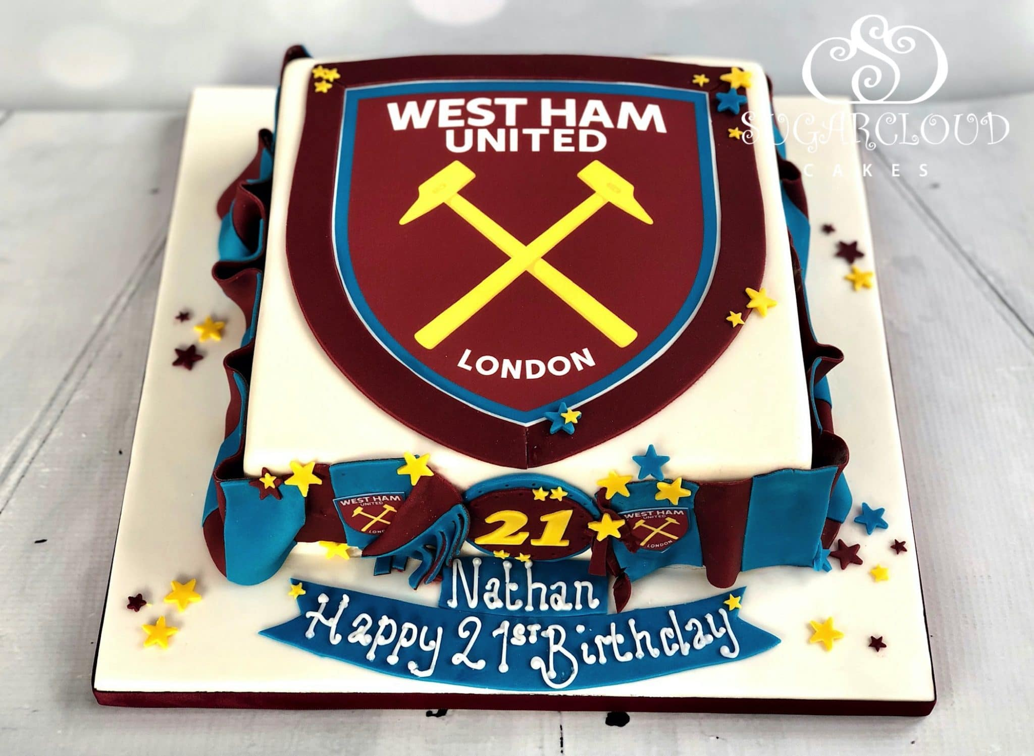 A West Ham United 21st Birthday Cake