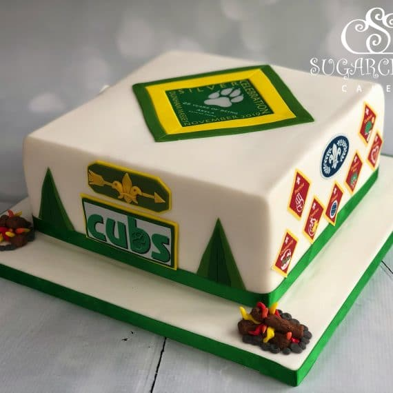 A Cub Celebration Cake For Katrina the Akela