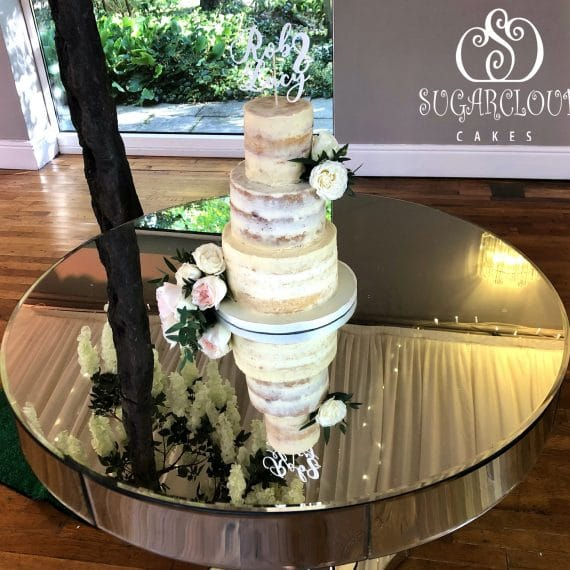 Rob and Lucy's Wedding Cake, Wrenbury Hall