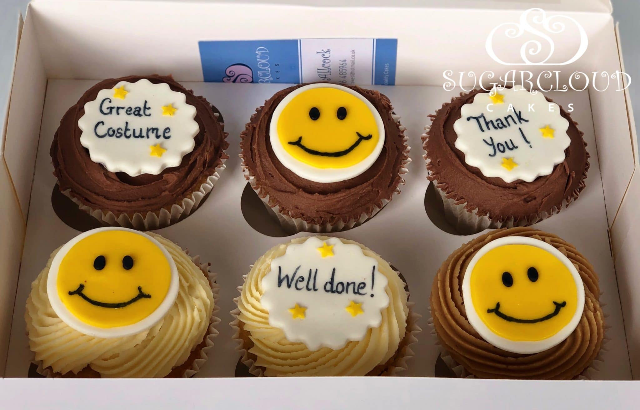 Thank you Cupcakes For A Dedicated Employee, Audlem