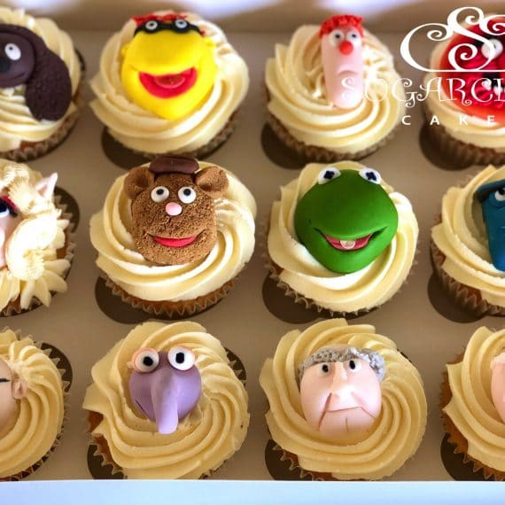 Muppet Cupcakes for a Lockdown Birthday
