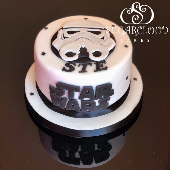 A Storm Trooper Birthday Cake, Willaston