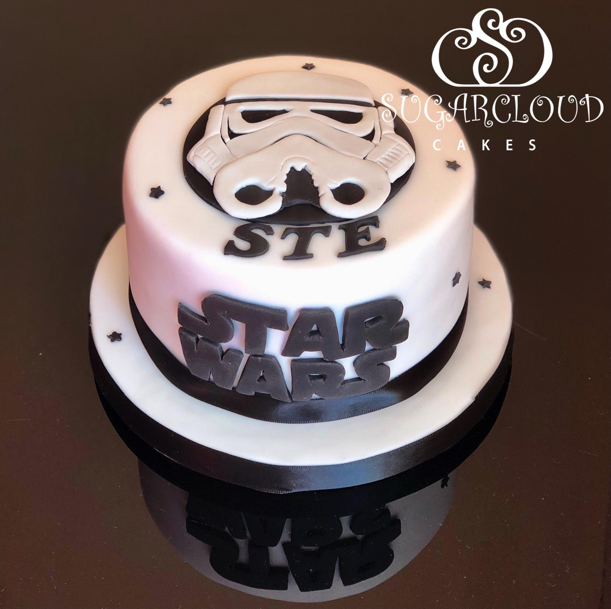 A Storm Trooper Birthday Cake, Willaston
