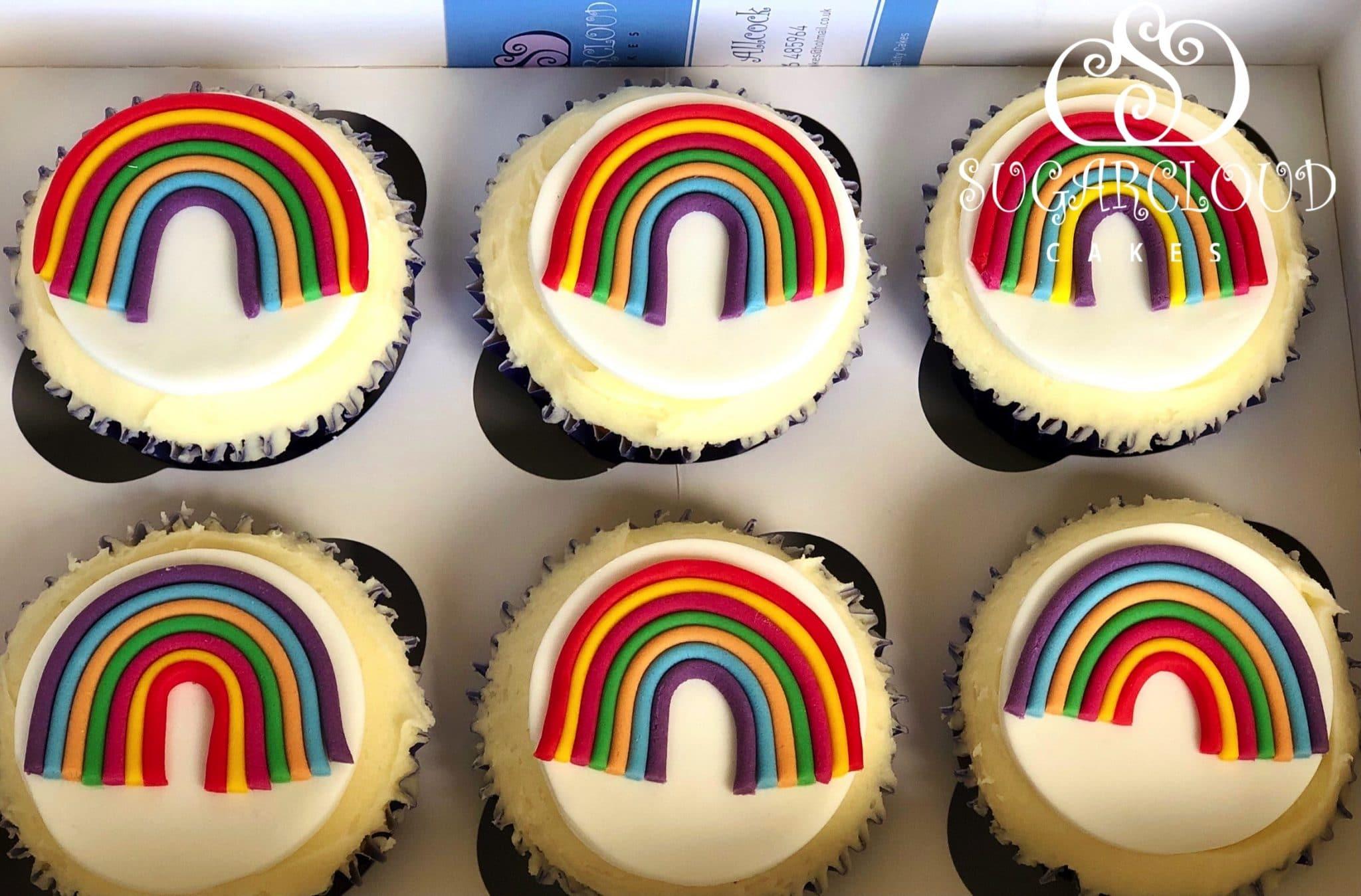 A Lockdown Gift of Lemon Cupcakes, Crewe