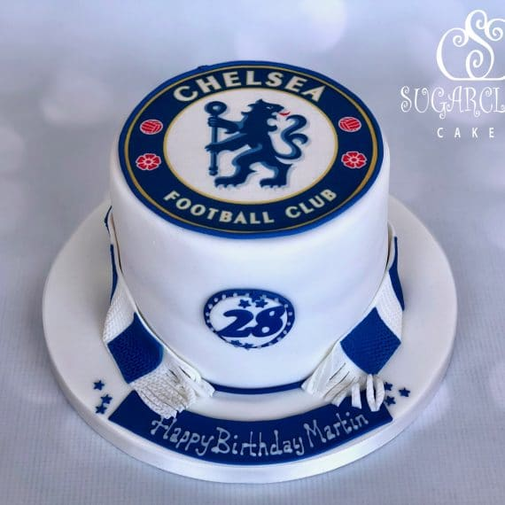 Chelsea Football Club Birthday Cake