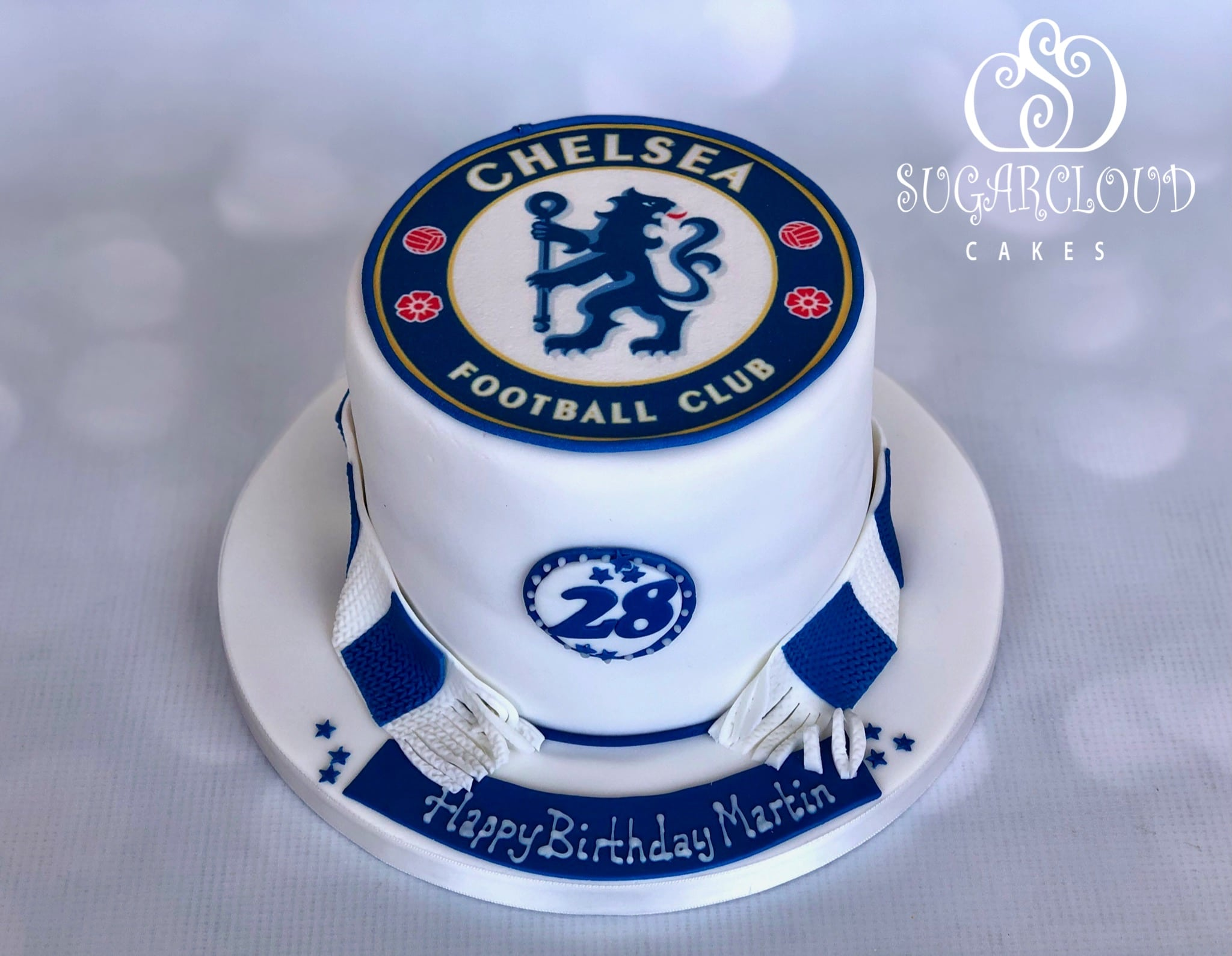 Chelsea Football Club Birthday Cake