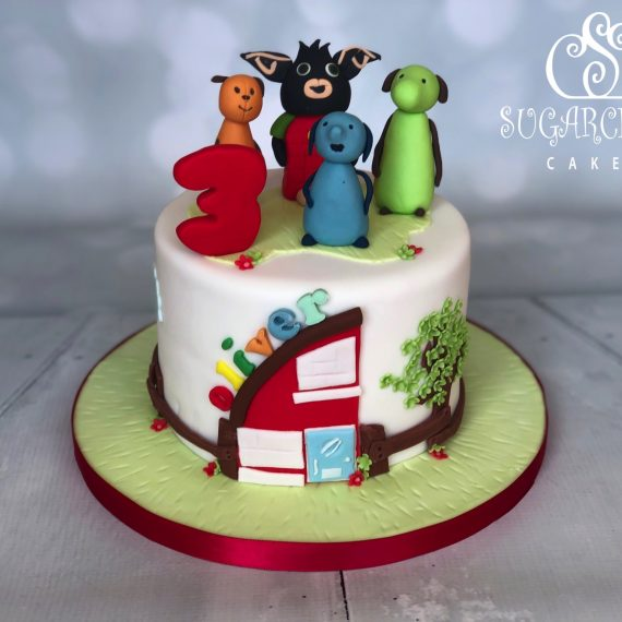 Oliver's Bing Inspired 3rd Birthday Cake