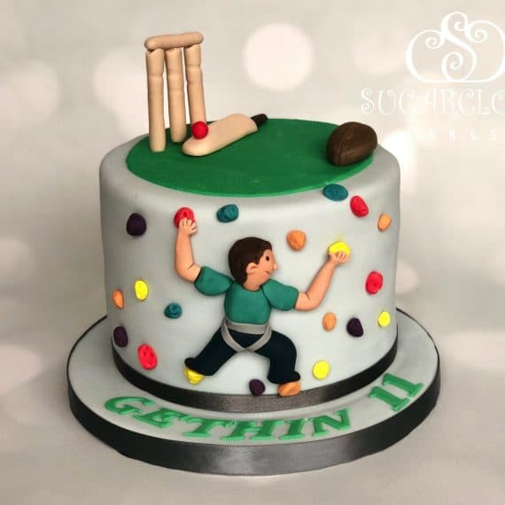 A Sporty Themed 11th Birthday Cake, Haslington