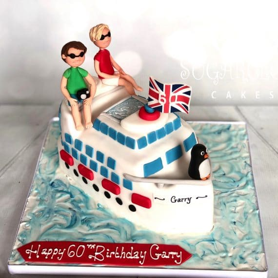 A 60th Birthday Cake for Garry, Crewe