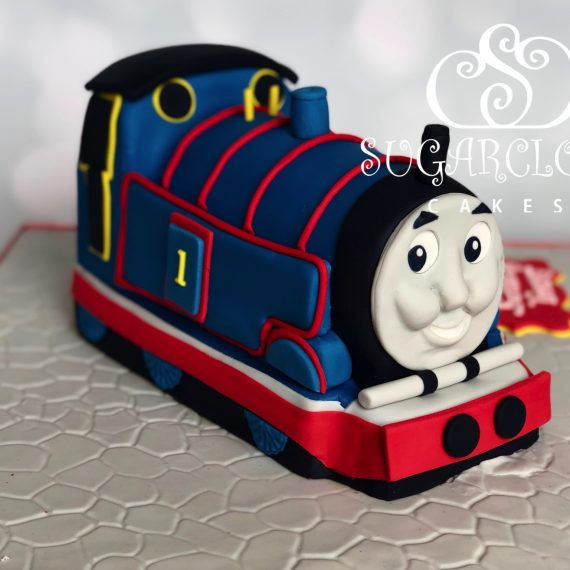 A 1st Birthday Thomas The Tank Engine Cake, Nantwich