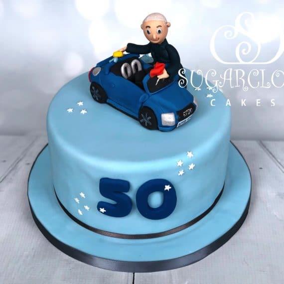 Richard's 50th Car Themed Cake